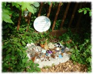 Fairy Altar at Lichgate on High Road