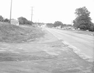 Entrance to High Road, August 1955