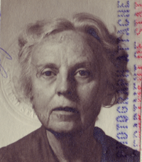 Laura's 1972 Passport Photo