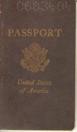 Cover of Laura's 1972 Passport